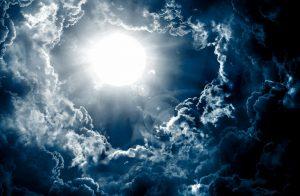 veliki zemljani trigon  i Mlad Mjesec