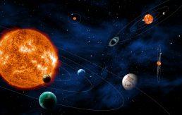 Pozivije Merkura, Venere, sunca i marsa