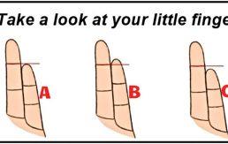 Pogledajte kako vam stoji mali prst na ruci – to otkriva svašta!