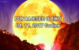 Šta nam donosi energija Punog Mjeseca u BIKU 04.11.2017.God