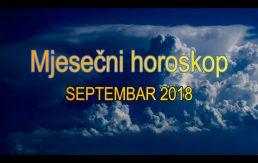 Horoskop za mjesec septembar 2018