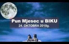 Pun Mjesec u BIKU 24 OKTOBRA 2018g -PERIOD iznenadnih događaja je pred nama