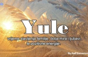 YULE: dan kada se rodi BOG SUNCA