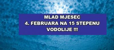 Mlad Mjesec u Vodoliji 4. februara 2019