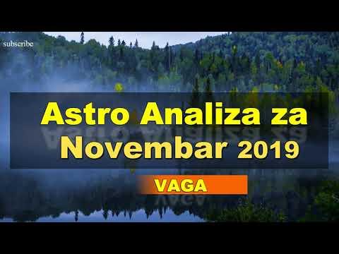 Astro prognoze i Horoskop za novembar 2019