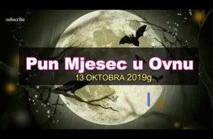 pun mjesec 13 oktobra