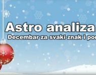 Astro Analiza za Decembar