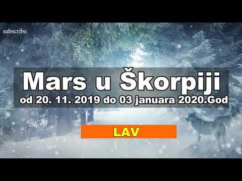 mars u škorpiji