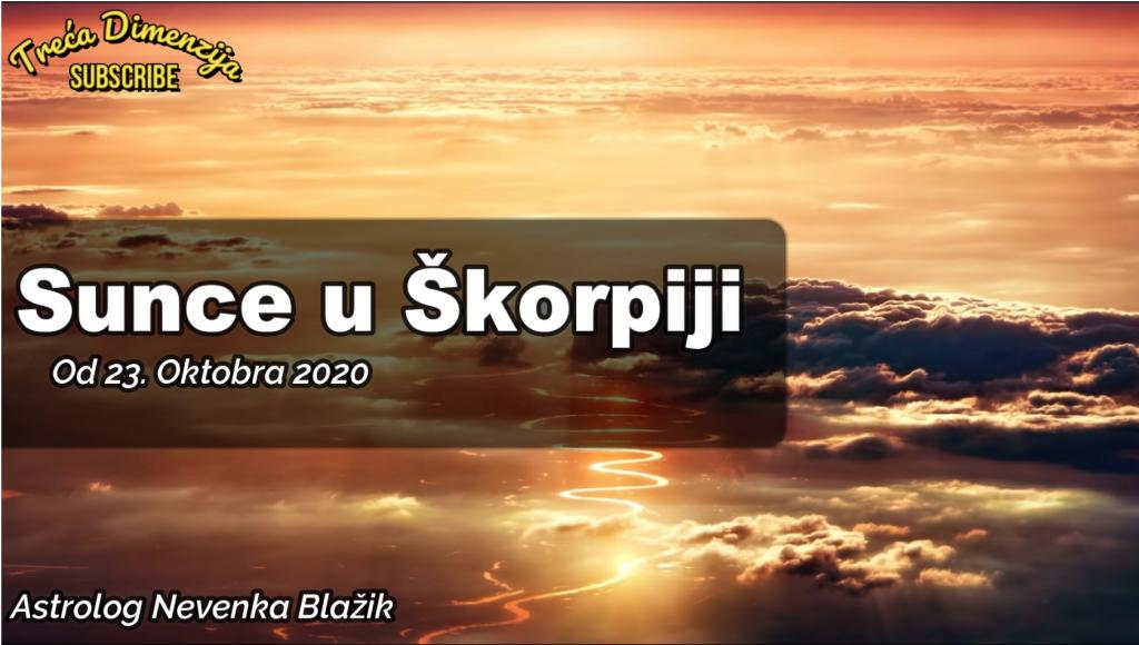 Sunce u Škorpiji od 23 oktobra