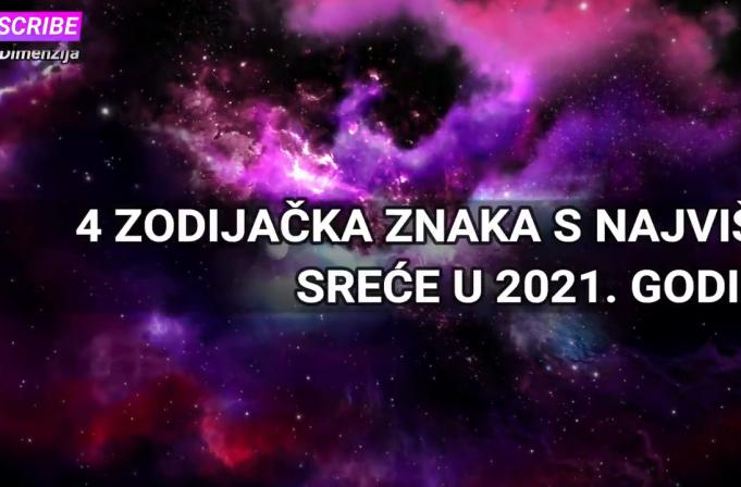 4 ZODIJAČKA ZNAKA S NAJVIŠE SREĆE U 2021. GODINI